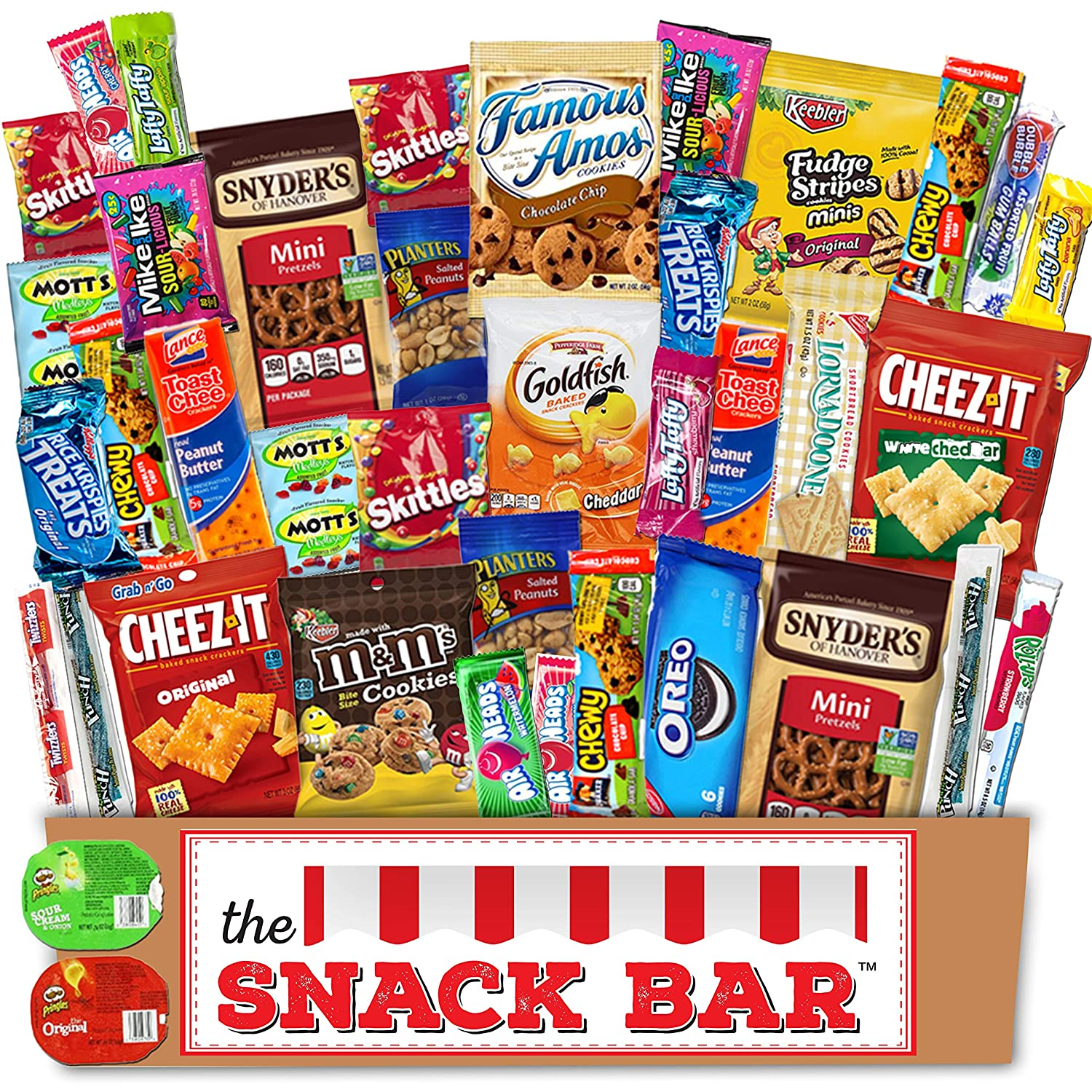 25 Snack Card